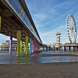 De pier van Scheveningen..
