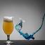 Bier vs Curacao blauw