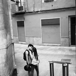 A kiss in Girona