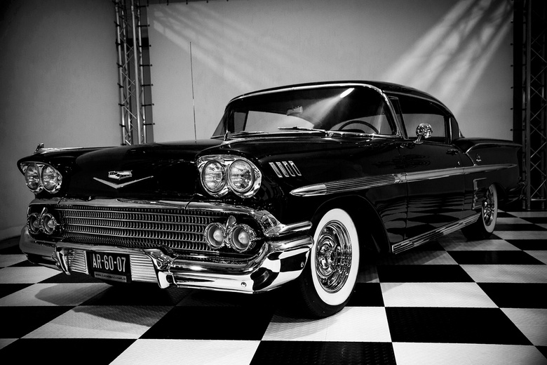 Impala - Fotoshoot @Classic Muscle Cars te Gronsveld