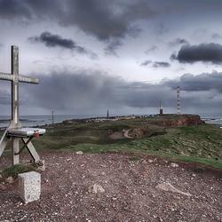 Het hoogste punt van Helgoland