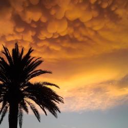 spaanse onweerswolken
