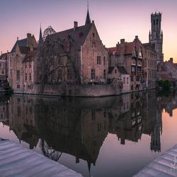 Sunset Brugge