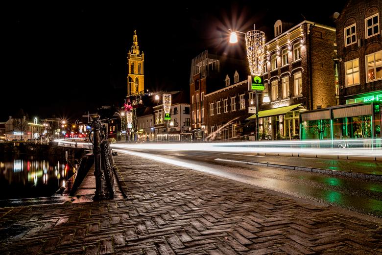 Roerkade Roermond at night -