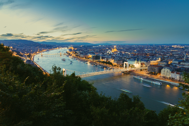 Budapest By Night -