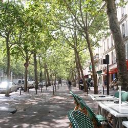 Straten in Parijs