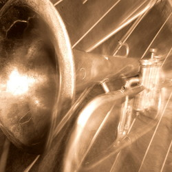 Sepia Trombone