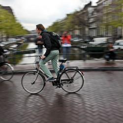 fiets,sluitertijd
