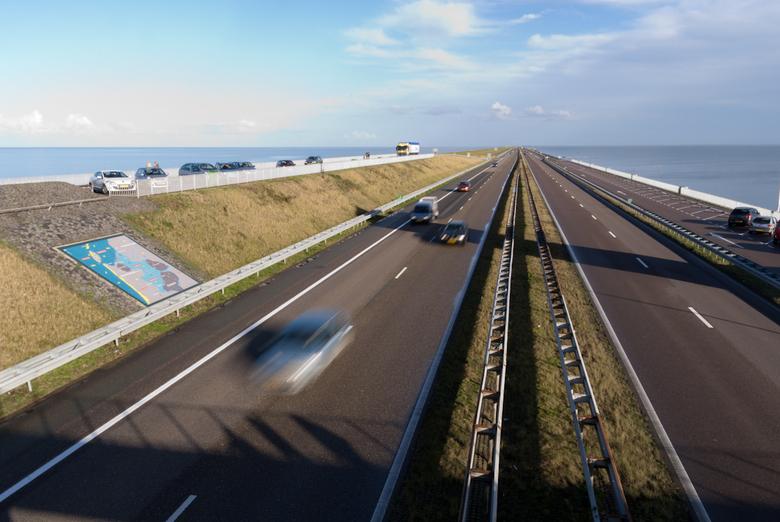 Afsluitdijk - Een van mijn expirimenten op de afsluitdijk
