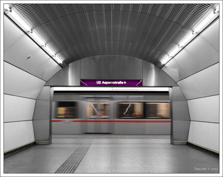 Tunnel vision - Metro Wenen
