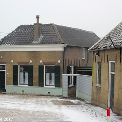 07-01-2017 oude kern in Capelle aan den IJsel.