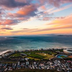 Kaapstad, Zonsondergang