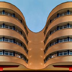 Groningen, UMCG: 'Siamese gevel' (fantasie)