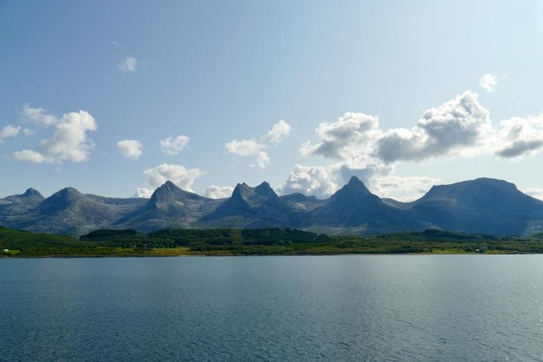 Gebergte '7 zusters' - Noorwegen -