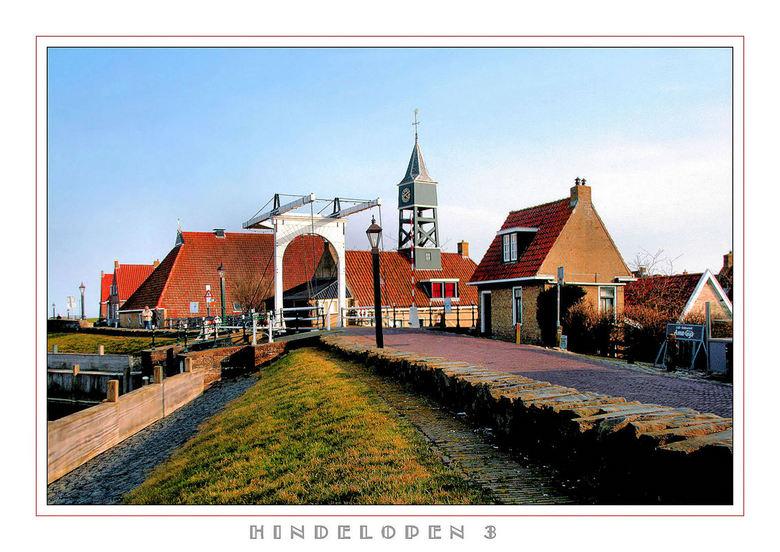 H I N D E L O P E N - Nog een uit de serie ZW Friesland<br /> Een bij de haven van Hindelopen<br /> <br /> gr Teunis