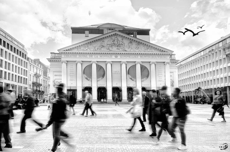 Brussel - De Munt (Multi Exposure) -