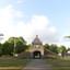 Oude hoofd gebouw van de Isabella kazerne