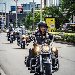 Harley Davidson toertocht Amersfoort