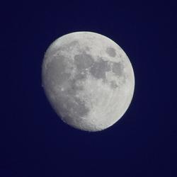 maan, overdag