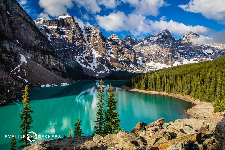 Moraine Lake - Canada - Moraine Lake, Canada.