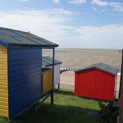 Strandhuisjes (2) Herne bay - Kent Engeland
