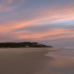 Twilight at Fraser Island 2