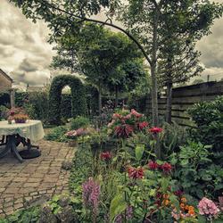 Tuin als willink