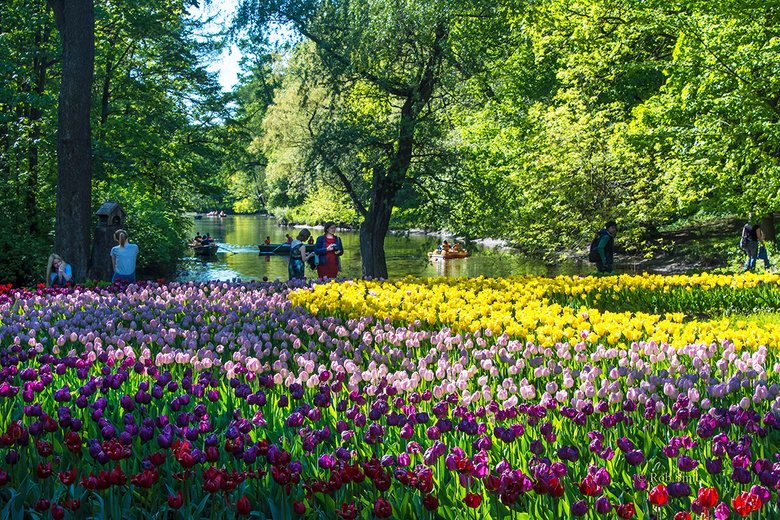 Kirov central park Yelagin eiland