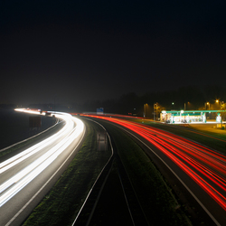 A7 Joure by night