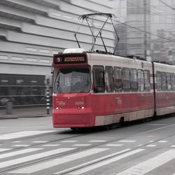 Tram in Scheveningen