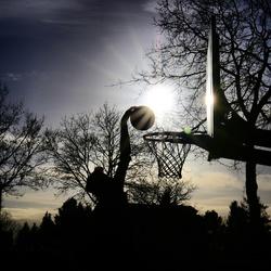 Zon sport en kou