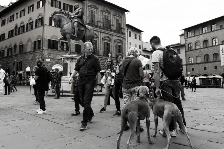 Bekeken worden - Centrum van Florence