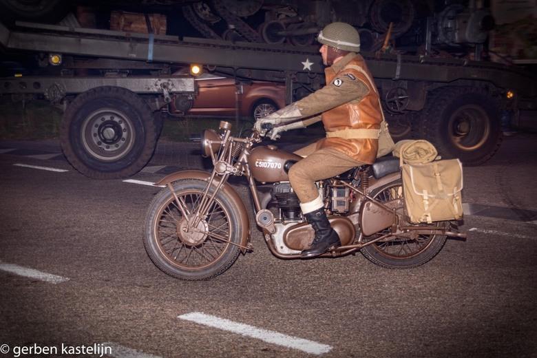 op weg naar Arnhem - 75 jaar oparation margret garden herdenkings rit