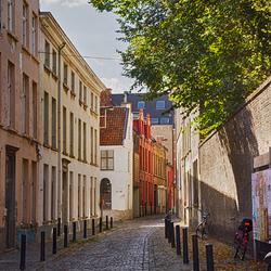 Steegje in Gent (Struifstraat)