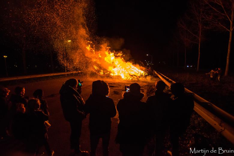 Kerstboom verbranding  - Kerstboom verbranding Standdaarbuiten 2019