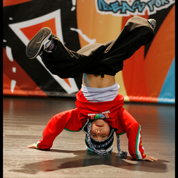 Young Breakdancer