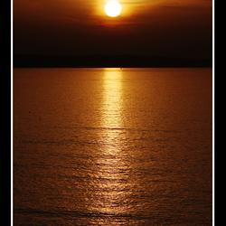 Sunset at Brouwersdam - 01