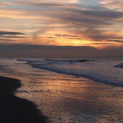 Adembenemend zonsondergang