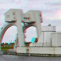 Stuw / Sluis Hagestein 3D
