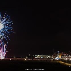Vuurwerkshow koningsdag 2018 Katwijk