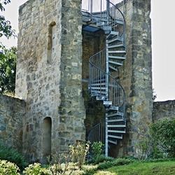 Toren in de oude vestingmuur.