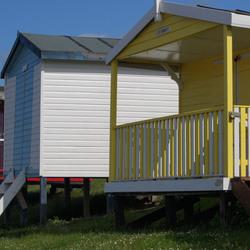 Strandhuisjes Herne bay - Kent Engeland