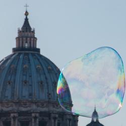 Rome, zeepbel
