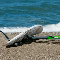 vakantiegevoel op een deens strand