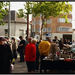 Rommelmarkt  op st jacobsplein Gent