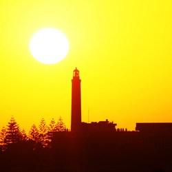 Sunset op Gran Canaria