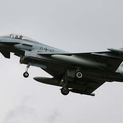 spiksplinternieuwe eurofighter at norvenich