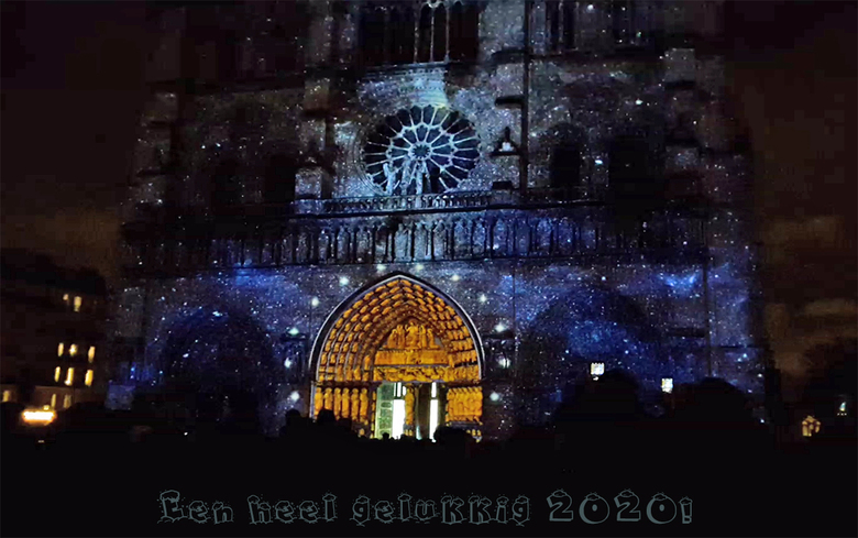 2020-notre-dame-print - Van die momenten waar je aan  terugdenkt... Lichtshow tgv 100 jaar Eerste Wereldoorlog op de Notre-Dame van Parijs. Al weer tw