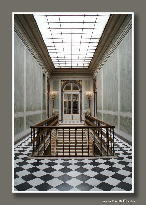 Symmetrisch Versaille - Galerij in Versaille die enkel bij speciale rondleidingen toegankelijk is.