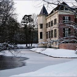 kasteel in wintersfeer..............